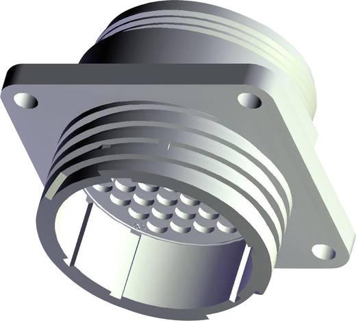 Rundstecker Flanschbuchse Serie (Rundsteckverbinder): CPC Gesamtpolzahl: 37 206151-1 TE Connectivity 1 St.