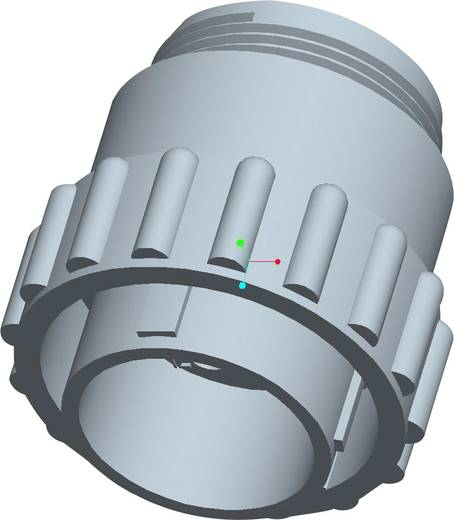 TE Connectivity 206044-1 Rundstecker Stecker, Einbau Serie (Rundsteckverbinder): CPC Gesamtpolzahl: 14 1 St.