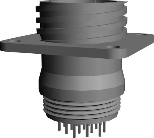 CPC Buchsengehäuse mit Rechteckflansch Pole: 16 1-207303-3 TE Connectivity 1 St.