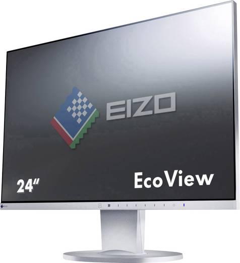 LED-Monitor 61.2 cm (24.1 Zoll) EIZO EV2455-GY EEK A+ 1920 x 1200 Pixel WUXGA 5 ms DisplayPort, HDMI™, DVI, VGA IPS LED