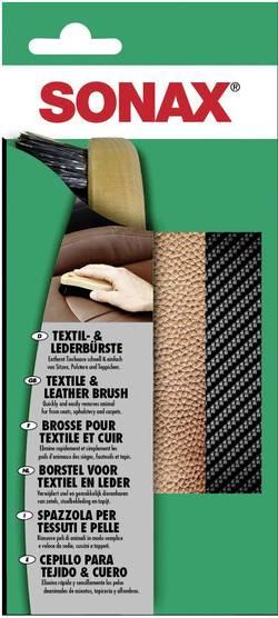 Kartáč na kůži a textil Sonax, 416741