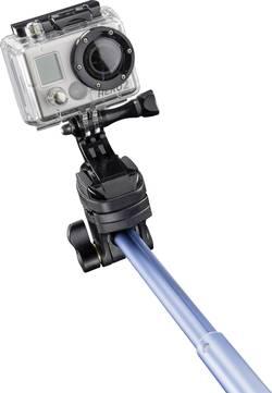 Selfie tyč Mantona Handstativ, 91 cm, vč. řemínku na ruku, modrá
