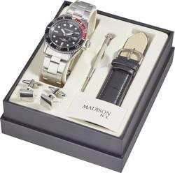 Náramkové hodinky Madison New York SUN427A6, (Ø) 40 mm, stříbrná