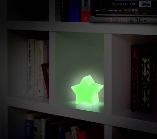 LED-Weihnachtsdekoration Stern RGB LED Polarlite LBA-51-012 Weiß