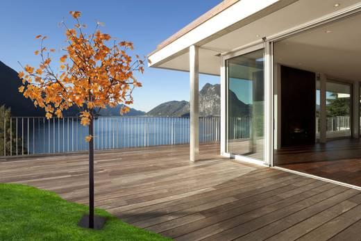 Außen-Dekobeleuchtung Baum LED 13.5 W Warm-Weiß LeuchtenDirekt Herbstlaub 86135-18 Schwarz