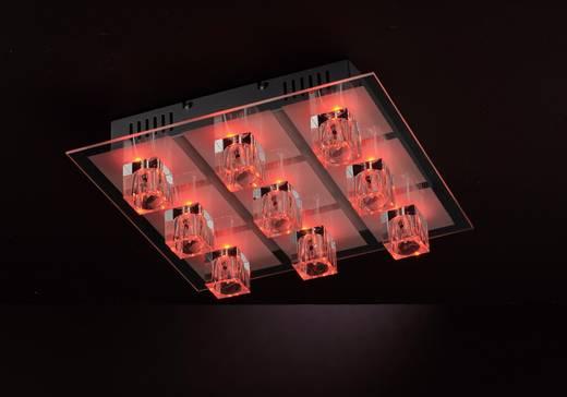 Deckenleuchte LED G4, LED fest eingebaut EEK: C (A++ - E) 129.24 W LeuchtenDirekt Oki 50385-17 Chrom