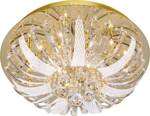 Deckenleuchte LED G4, LED fest eingebaut 144.4 W LeuchtenDirekt Sylla 50382-10 Messing (poliert)