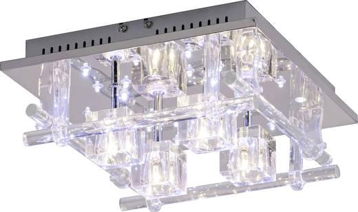 Deckenleuchte LED G4, LED fest eingebaut 57.2 W LeuchtenDirekt Kemal 50356-17 Chrom