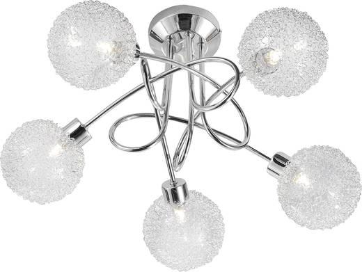 Deckenleuchte Halogen G9 140 W LeuchtenDirekt Bubblz 50187-17 Chrom