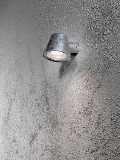 Außenwandleuchte Halogen GU10 35 W Konstsmide Trieste 7523-320 Stahl
