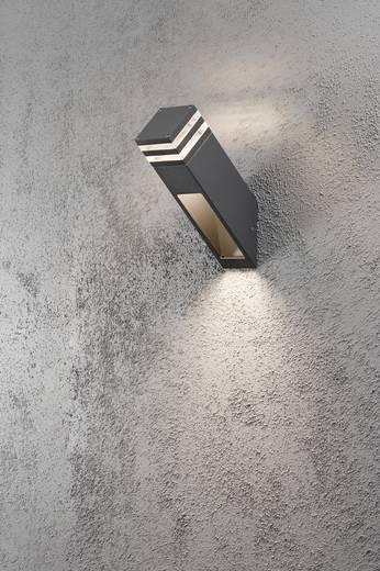 LED-Außenwandleuchte 8 W Warm-Weiß Konstsmide 7944-370 Massa Anthrazit