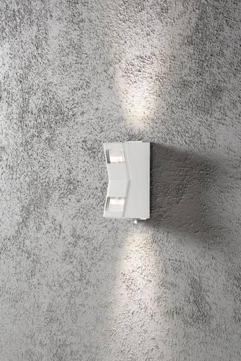 Außenwandleuchte LED GU10 12 W Konstsmide Potenza 7956-250 Weiß