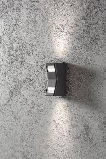 Außenwandleuchte LED GU10 12 W Konstsmide Potenza 7956-370 Anthrazit