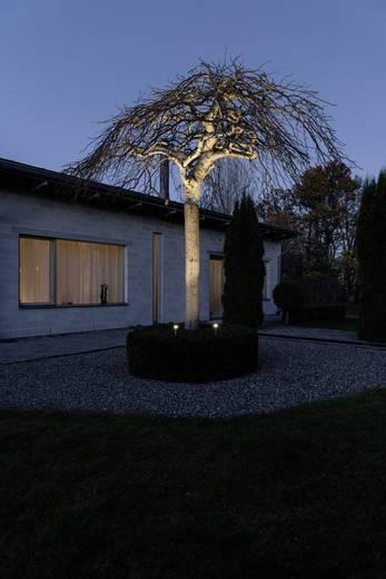 LED-Außenstandleuchte 2er Set 6 W Warm-Weiß Konstsmide 7965-000 Spot Light Aluminium