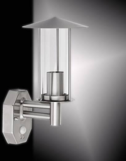 au enwandleuchte mit bewegungsmelder energiesparlampe led e27 60 w leuchtendirekt marc 19591 55. Black Bedroom Furniture Sets. Home Design Ideas