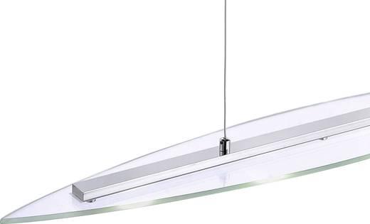 LED-Pendelleuchte 20 W Warm-Weiß LeuchtenDirekt Daniel 15083-17 Chrom