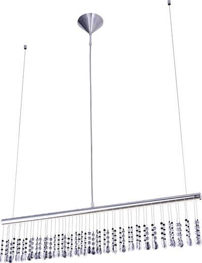 LED-Pendelleuchte 12 W Warm-Weiß LeuchtenDirekt Ida 15037-17 Chrom