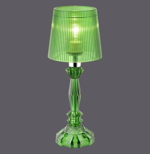 Tischlampe LED E14 40 W LeuchtenDirekt Nabi 13005-43 Grün