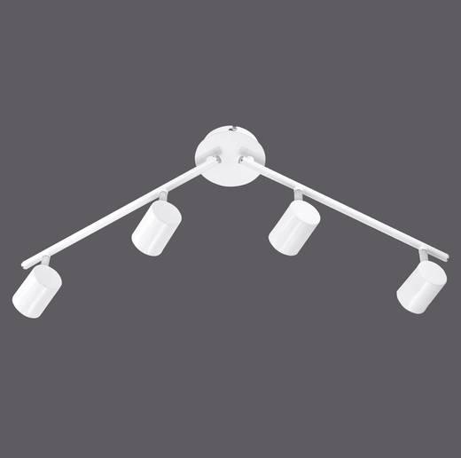 Deckenstrahler LED GU10 12 W LeuchtenDirekt Tarik 11944-16 Weiß