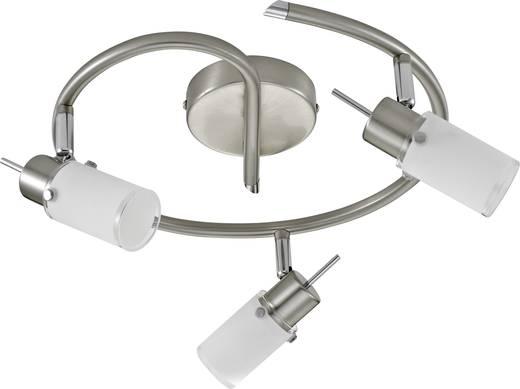 Deckenstrahler LED GU10 12 W LeuchtenDirekt Max 11933-55 Stahl
