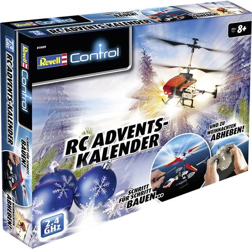 revell control rc adventskalender rc einsteiger hubschrauber bausatz. Black Bedroom Furniture Sets. Home Design Ideas