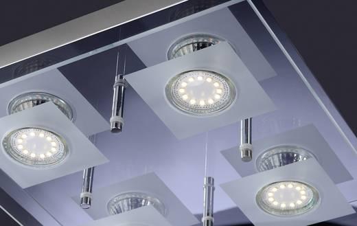 deckenleuchte led gu10 12 w leuchtendirekt stefan 11825 17 chrom. Black Bedroom Furniture Sets. Home Design Ideas