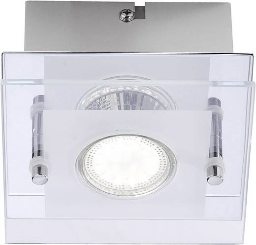 Deckenleuchte LED GU10 3 W LeuchtenDirekt Stefan 11822-17 Chrom