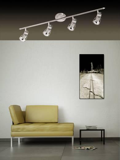 Deckenstrahler LED GU10 12 W LeuchtenDirekt Justus 11695-55 Stahl