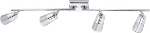 LED-Deckenstrahler 16 W Warm-Weiß LeuchtenDirekt Dalli 11231-17 Chrom
