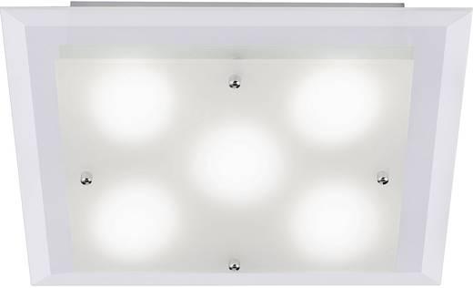 LED-Deckenleuchte 12 W Warm-Weiß LeuchtenDirekt Themisto 11218-55 Stahl