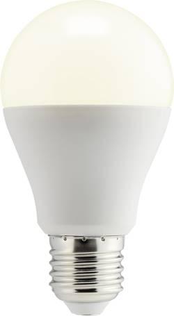 Ampoule LED E27 Sygonix TA60-PA10D forme standard 10 W=60 W blanc chaud (Ø x L) 60 mm x 108 mm EEC: classe A+ à intens