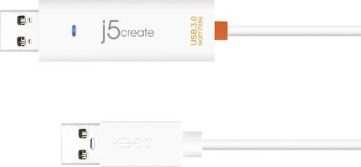j5create USB 3.0 Wormhole Switch/Data-Link-Kabel Weiß 1,5 m
