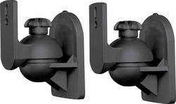 Držák na reproduktory SpeaKa, nakláněcí/otočný, černá