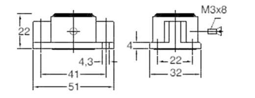 Anbaugehäuse EMV-K.3/4.AG 4-1102703-5 TE Connectivity 1 St.