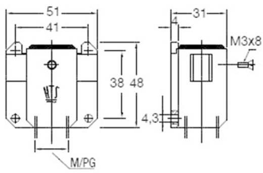 Sockelgehäuse EMV-K.3/4.SG.1.M16.G 1106401-2 TE Connectivity 1 St.