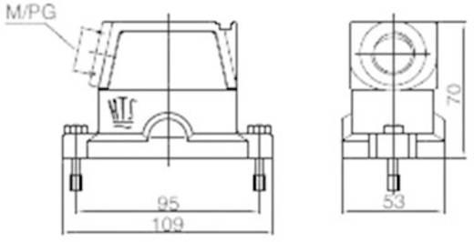 Anbaugehäuse EMV-K.10/24.STS.1.M25.G 1106427-3 TE Connectivity 1 St.