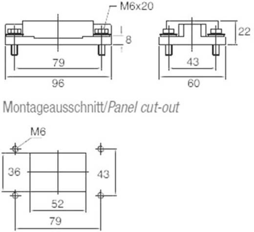 Anbaugehäuse EMV-K.6/16.AG.M6 4-1102712-5 TE Connectivity 1 St.