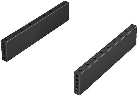 Sockelblende (B x H) 500 mm x 100 mm Stahlblech Umbra-Grau Rittal TS 8601050 1 Set