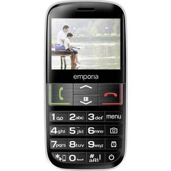 Emporia Euphoria telefón pre seniorov nabíjacej stanice, tlačidlo SOS čierna