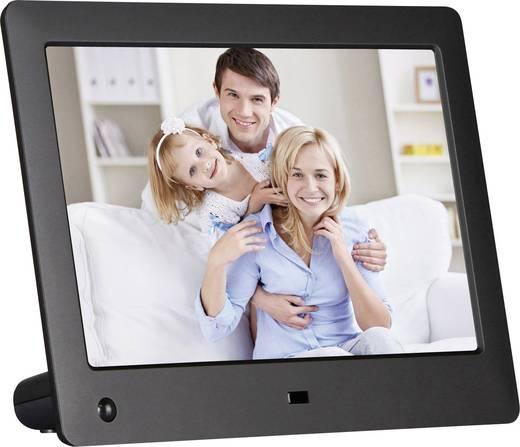 xoro dpf 8a2 digitaler bilderrahmen 20 3 cm 8 zoll 1280 x 768 pixel schwarz kaufen. Black Bedroom Furniture Sets. Home Design Ideas