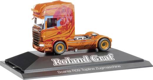 "Herpa 110709 H0 Scania Zugmaschine R TL ""Roland Graf"""