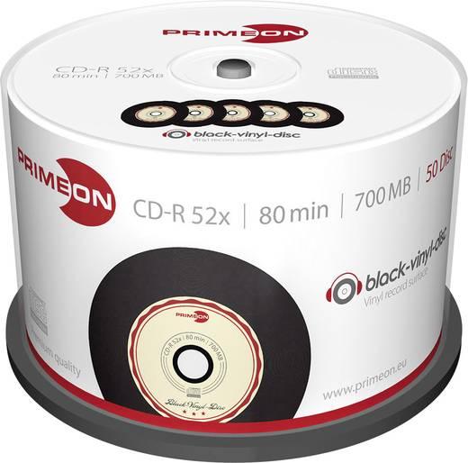 CD-R 80 Rohling 700 MB Primeon 2761108 50 St. Spindel Vinyl