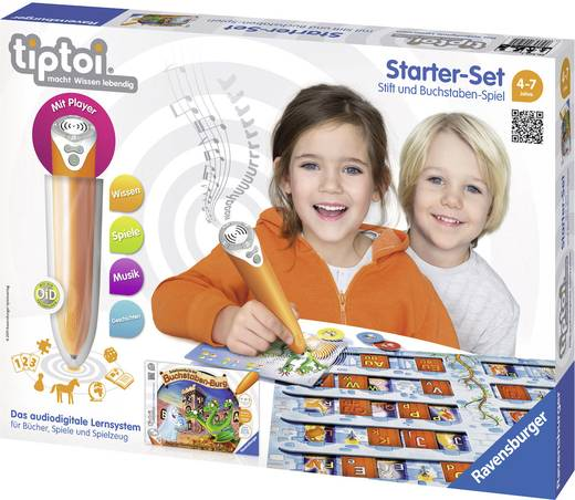 """Ravensburger tiptoi® Starter-Set """"Stift und Buchstaben-Spiel"""""""