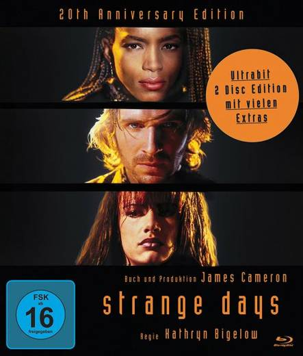 blu-ray Strange Days FSK: 16
