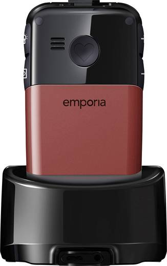 Emporia Glam Senioren-Klapp-Handy Rot