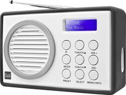 DAB+ přenosné rádio Dual DAB 81, DAB+, FM, šedá, bílá