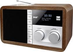 DAB+ stolní rádio Dual DAB 32, AUX, DAB+, FM, dřevo
