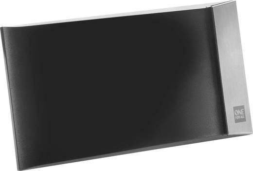 One For All SV 9335 Aktive DVB-T/T2 Flachantenne Innenbereich Verstärkung: 42 dB Schwarz
