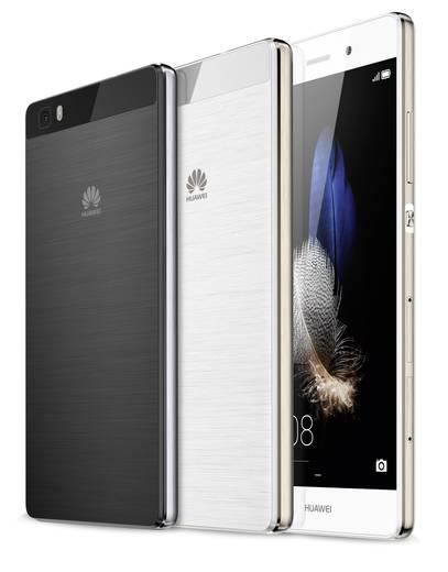 Huawei P8 Lite Smartphone Hybrid-Slot 16 GB 12.7 cm (5 Zoll) 13 Mio. Pixel Android™ 5.0 Lollipop Schwarz
