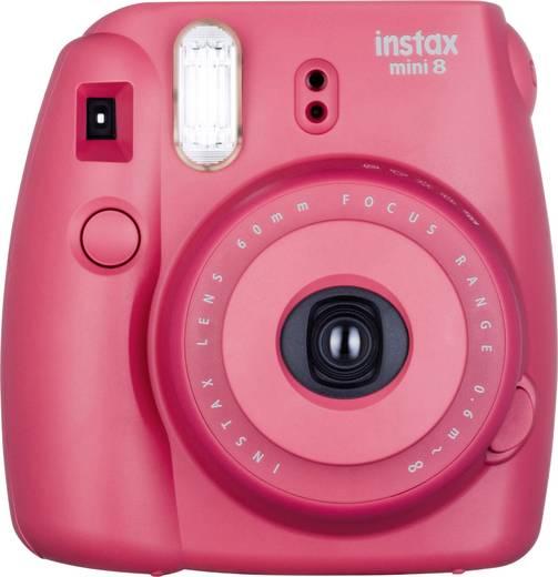 Sofortbildkamera Fujifilm Instax Mini 8 Himbeerrot